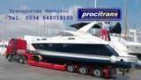 Transporte embarcaciones Francia-España - foto