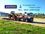 Transporte de Excavadoras - foto