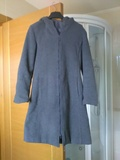 Abrigo gris con capucha t.m - foto