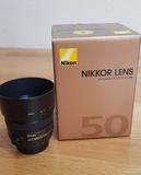 objetivo nikon 50mm 1.4 - foto