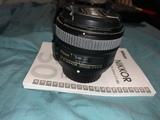 Nikon AF-S 50mm F1.8 G - Objetivo para N - foto