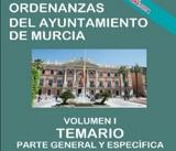 TEMARIO ORDENANZA AYUNTAMIENTO DE MURCIA - foto