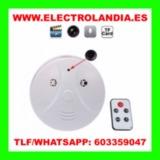 kK  Detector de Humo Camara Oculta HD - foto
