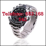 Ywk4wx reloj espia de acero full hd - foto