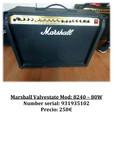 Marshall Valvestate Mod: 8240 – 80W - foto