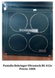 Pantalla Behringer Ultrastack BG 412s - foto