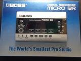 BOSS MICRO BR digital recorder - foto