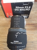 Sigma 50 F2,8 Macro EX DG-para Nikon FF - foto