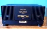 Etapa de potencia Sharp System 7700 - foto