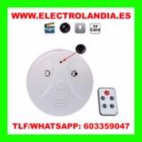 rh4  Detector de Humo Camara Oculta HD - foto