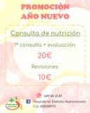 Promoción consulta de nutrición - foto