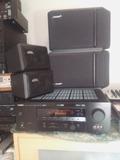 amplificador y cuatro columnas - foto