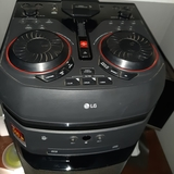 Reproductor de música LG efectos de dj. - foto
