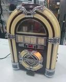 Radio vintage con reproductor de cd - foto