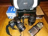kit fotografía Pentax K20D - foto