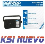 Radio portátil Daewoo drp-123 - foto