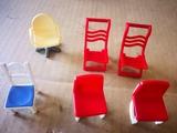 lote sillas playmobil/famobil - foto