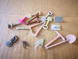 lote herramientas obra playmobil - foto
