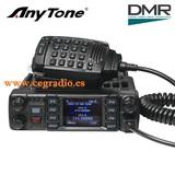 Anytone at-d578uv pro emisora + antena - foto
