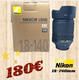 objetivo nikon 18-140 VR - foto