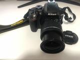 Nikon d3300 + objetivo 18-55mm - foto