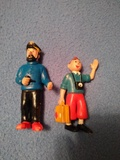 2 figuras tintin cómic Spain - foto