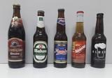 Colección botellas de cervezas - foto
