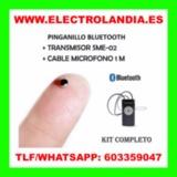 9F  Pinganillo con Transmisor Bluetooth - foto
