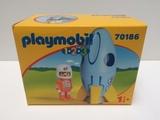 Playmobil 70186 - 1.2.3 Astron. y Cohete - foto