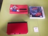 nintendo 3dsxl roja con Mario y 5 juegos - foto