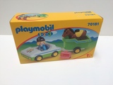 Playmobil 70181 - 1.2.3 Remolque caballo - foto