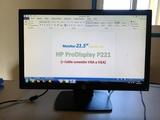 Monitor 21.5 HP ProDisplay P221 (+cable) - foto