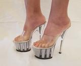 Lote 100 pares zapatos tacones Pleaser - foto