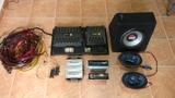 equipo de audio coche - foto