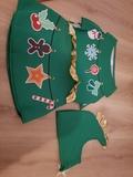 Disfraz arbol navidad 4-6 años - foto