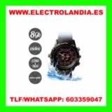 FL  Reloj Acuatico Camara Oculta HD - foto