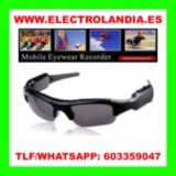 W  Gafas de Sol Camara Oculta HD - foto