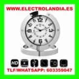 ajP  Reloj Sobremesa Camara Oculta HD - foto