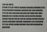 9 cartuchos tinta color EPSON - foto
