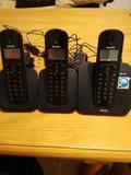 Trio de telefonos inalámbricos Philips - foto