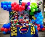 Decoración con globos - foto