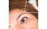 DiseÑo de cejas con hilo - foto