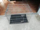 cambio jaula de perro desmontable - foto