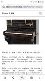 Piano antiguo clásico coleccionistas - foto