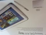 Samsung galaxy note 10.1--32gb--white - foto