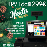 TPV TACTIL PELUQUERIA , BAR,  ZAPATERIA - foto
