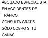 Abogado especialista accidentes trafico - foto