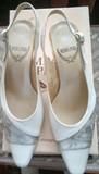Zapatos fiesta medio tacon n°37 - foto