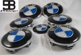 Lote emblemas carbono azul blanco - bmw - foto