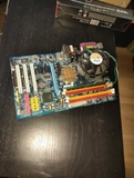 Combo placa procesador RAM y disipador - foto